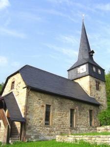 Kirche Saalborn